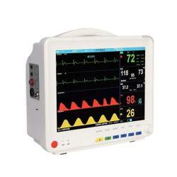 Monitor de paciente portátil múltiples parámetros de ECG Médica Hospital Veterinario Ambulancia de Monitor de paciente de la pantalla táctil de la presión arterial monitor de signos vitales del paciente