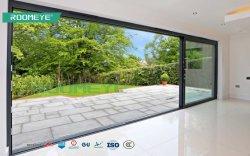 Das Doppelverglasung-Aluminium, das Lifting/Bi Falz-Tür für Wohngebäude As2047/Aama/Nami/CSA schiebt, bestätigte Außenaluminiumdoppelverglasung-Bi-Falten-Tür