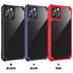 초고감도의 하드 PC 소프트 TPU 방호형 휴대폰 Samsung S21 Plus S21 Ultra의 케이스