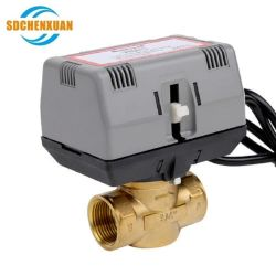Vn4013aj1000t 3/4 Zoll, 2 Methode, AN/AUS-200-240V, BSPP, 500mm Kabel, ohne Staubkappe Vn4013