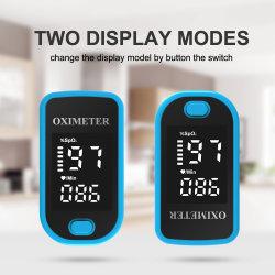 Digitalanzeigen-Impuls-Oximeter-Monitor LED-