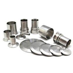 Adaptateur de flexible hydraulique en acier inoxydable/Union/Voyant Raccords de tuyaux sanitaires