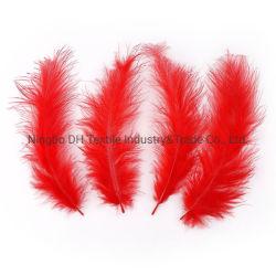 Fancy coloré Vente chaude Fleur de plumes de fraisage en plumes d'accessoires pour vêtements