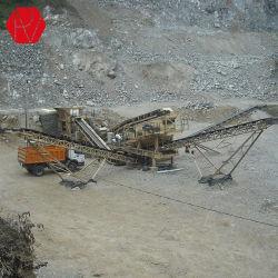 Мобильный завод камнедробилка для дорожного строительства