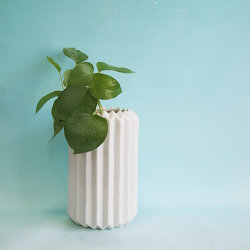 Inicio populares decoración jardín acristalado de cerámica Jarrón de flores de la sembradora