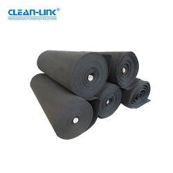 Clean-Link gewalste synthetische vezels geactiveerde koolstof primair filter katoen koolstof Vezeldeken 350 g 480 g.