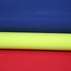 El nylon poliéster hilado Mezcla de conexión a red Melange Np tafetán 330t de vuelta para el relleno de calandrado brillante chaqueta