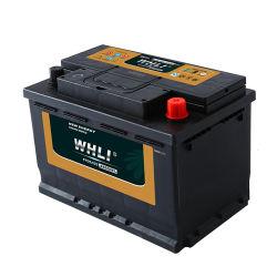 Whli Car Battery DIN75mf 12V 75ah für Auto/Auto-Start