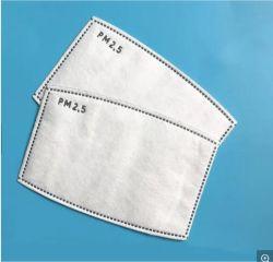 Papel de filtro de partículas PM2,5 5 ply boca contra pó de carbono Face Máscara de protecção do filtro descartável de algodão