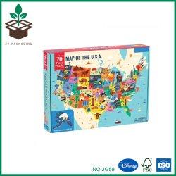 マップによってカスタマイズされるプラスチック困惑のゲーム100部分の子供のおもちゃの国の