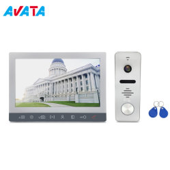 Citofono del video telefono del portello del collegare video per il sistema di controllo faccia a faccia di accesso di colloquio domestico