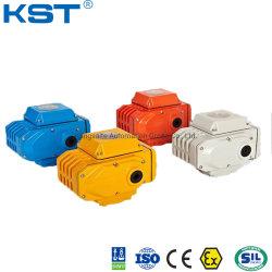 球弁または蝶弁または制御弁の四分の一の回転またはマルチ回転回転式モーターを備えられた電気アクチュエーター