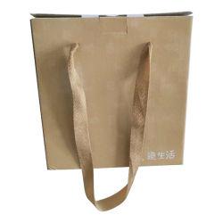 로고를 가진 Kraft 중국 도매 싼 호화스러운 물색 종이 봉지