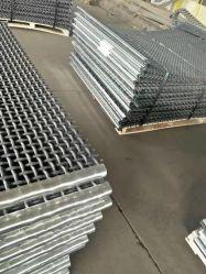 مصفاة ذات اهتزازات TEC-الغربال بقماش مزود بشاشة منسوجة من الفولاذ المقاوم للصدأ أو الفولاذ الكربوني