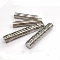 DIN DIN975976 4,8 8,8 10,9 12,9 SS304 316L ASTM A193 B7 B7M B17 B8 B8m Cl2 A320, L7 L7m Negro Plain Natual HDG galvanizó la varilla roscada de alta resistencia de la barra de rosca