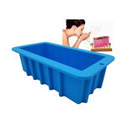 大きい大きい 3D の注文の DIY のハンドメイドの長方形の正方形の楕円ハンドメイド ケーキベーキング金型シリコン SOAP Loaf 型、石鹸作成用 およびキャンドル