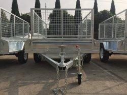 Australia galvanizado caja estándar de inclinación del remolque