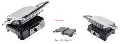 2개의 조각 전기 Detacable BBQ 접촉 압박 Panini 석쇠