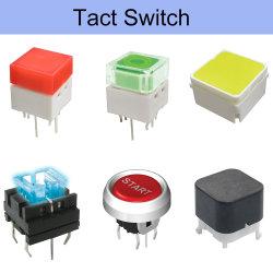 Microinterruttore a pulsante elettrico momentaneo con funzionamento a tre pulsanti