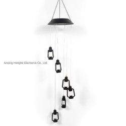 Solarder lampen-Solarwind-Zarge-Lampen-Farben-ändernde Wind-Zarge-Öl-Lampen-LED Farben-ändernde Öl-Lampe Lampen-Solargarten-Lampen-Hof-der Lampen-LED