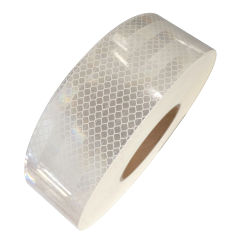 Impresos personalizados de la luz de la cinta de Tejido reflectante, elástica retardante de fuego tira de cinta reflectante resistente al agua para la ropa