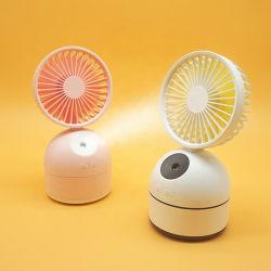 Mini USB à l'embuage du ventilateur du refroidisseur d'air Portable Rechargeable