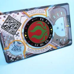 La norme ISO15693 longue distance de lecture ticket SLIX ICODE PVC carte à puce RFID