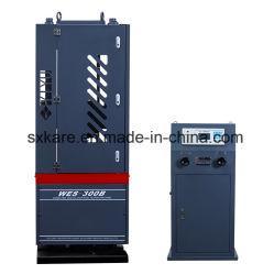 Equipos de laboratorio de la pantalla digital máquina de ensayo universales (WES-300B)