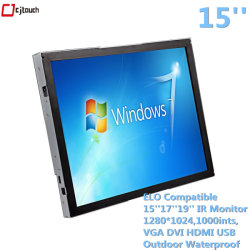 Industrie-PC 15''17''19''21,5'' Wand Infrarot kapazitiv Robustes Tablet Slim All in Einem PC Touchscreen Display Monitor
