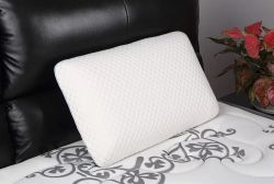 폴리에스테르 솔리드 정형외과 침대용 사용자 지정 도매 메모리 폼 베개 잠자기