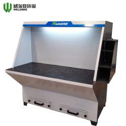 Colector de polvo de filtro de cartucho Workbench Tabla Extractor de humos máquina Industrial