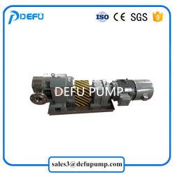 Pompa igienica sanitaria del lobo del rotore della camma dell'acciaio inossidabile