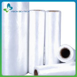Food Storage Shopping T-Shirt Takeaway Abbigliamento cosmetico Borsetta Export spazzatura Degradation Bio produce roll bag
