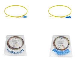 Sc LC FC St 12 цветов в комплекте с вентилятором оптических патч шнур оптоволоконным кабелем