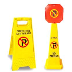カスタム黄色いプラスチック警告の注意の印のボード