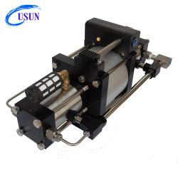 Modello Usun: Pompa booster pneumatica in elio ad alta pressione ad alta pressione a doppia azione GBD60 300-500 Bar per il riempimento in palloncino