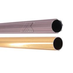 Фошань верхней части из высококачественного алюминия душ шторки стержень профиль полюс