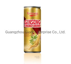 250ml Luxuruous Ginseng Refrigerantes bebida energética com taurina e de sumos de peras