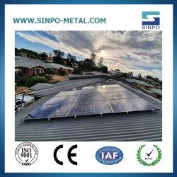 Sistema di energia solare della struttura solare dei supporti di attacco per i prodotti del comitato