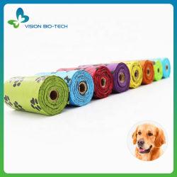 Sacchetto per rifiuti di cani sacchetto per animali domestici solubile e compostabile biodegradabile