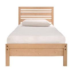 Старинная твердого дерева с одной спальней Сани одна односпальная кровать с деревянным настилом базы
