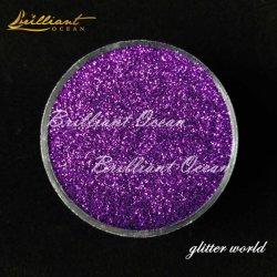 Excellent festival Glitter poudre pour les éléments en plastique