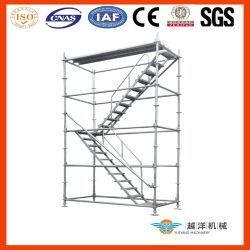 L'Australie Kwikstage System-Aluminum échafaudage échafaudage escalier modulaire