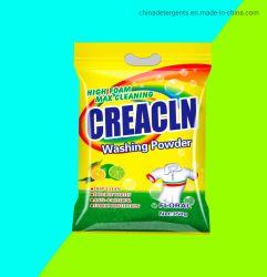 速クリーニング、低適量、高泡、強芳香、粉末洗剤、洗浄力がある粉、ブランド代理店、OEMのCreaclnの工場