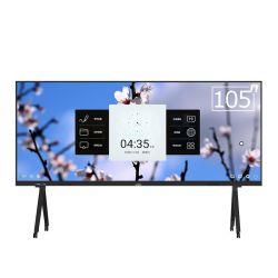 Платы светодиодов интерактивные панели сенсорного экрана с использованием доски с 105 дюймов - все в одном ПК