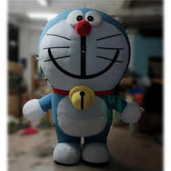 Costume mascotte gonflable Cartoon Movie Character Doraemon Mascot