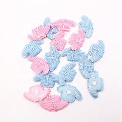 24pcs azul Rosa favorece la tela de decoración para Baby Shower decoraciones de fiesta