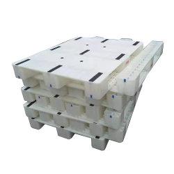 3 عداءات نوع [بالأسفل] مع [10بكس] أنابيب فولاذ تحميل منصة بلاستيكية 1-1,5 طن