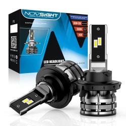 H13 15000lm phares à LED à éclairage automatique 80W 6500K Feu avant antibrouillard d'automobile
