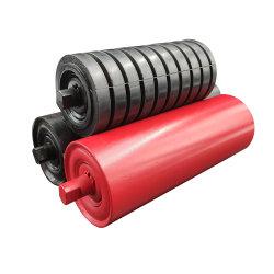 工業用供給機械部品塗装ゴム製ウレタン衝撃コンベア アイドラローラー
